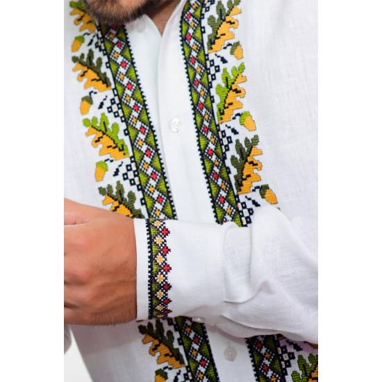 Вишита сорочка Дубок (класична зі стійкою)