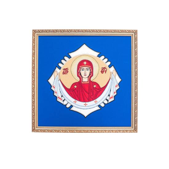 Ікона Покрова в рамі