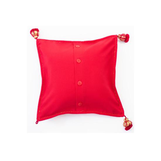 Вишита подушка Зоряна ружа