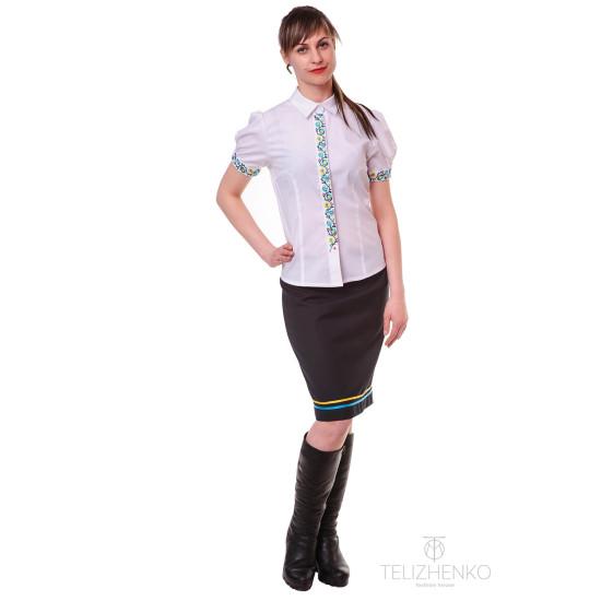Вишита сорочка дівоча (короткий рукав)