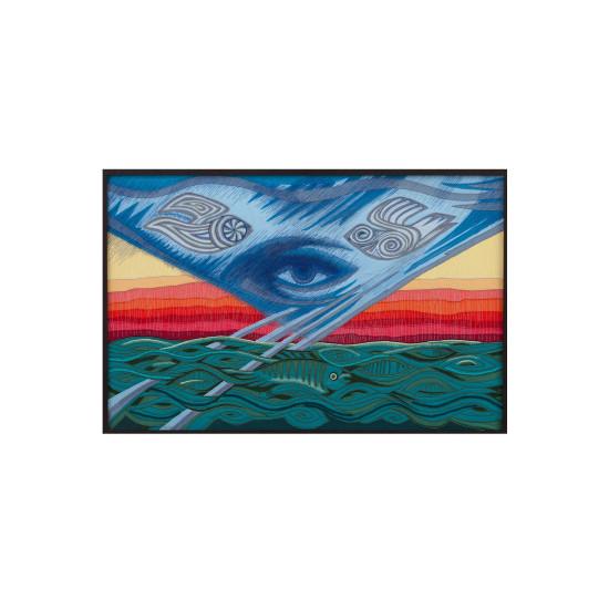 Вишита картина І дух Божий над водами витав