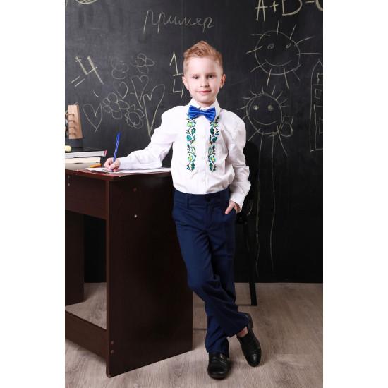Вишита сорочка для хлопчика (довгий рукав)