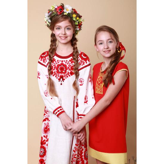Дитяча сукня Козацьке бароко